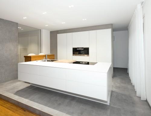 Küchenblock mit Bar